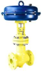 WTA® Bellows Sealed Globe Valves -- WTA® Pneumatic Actuated Chlorine Valves Type EC11.35