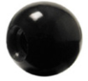 Phenolic Ball Knob, Plastic Molded Threads -- KD-1055