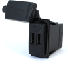 Blue Sea Systems 1039B Fast Charge - Dual USB Charger, 4.8A, 12/24V - Bulk Packaging -- 78041B -Image