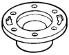 PVC DWV Flanges -- 433862