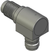 Honeywell Harsh Application Aerospace Proximity Sensor, HAPS Series, Right angle cylindrical threaded form factor, 2,50 mm/3,50 range, 3-wire current sinking output near/fault/far, EN2997Y10803MN term -- 1PRTD3ACN1-000 -Image