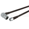 SMA-Male to N-Male Right Angle, Pigtail 20 ft 195-Series -- CA-NMRSMA020 -Image