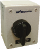 4 Pole Sheet Metal Enclosed Motor Disconnect Switch -- KET425UL Y/R