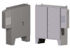 UL Type 12 Floor Standing Enclosure with UL Listed Air Conditioner -- 606012-12FDTEx - Image
