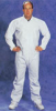 LABBEST Environstar-MP Coveralls White M.P. coaled poly-p coverall Medium 25/cs -- 1592189