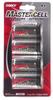 Alkaline Batteries -- 41-1629 4 Pack Carded C Mastercell Alkaline Batteries - Image