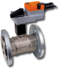 Two Way Flanged Characterized Control Valve -- B6 Series