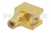 SMC Jack Right Angle Connector Solder Attachment Surface Mount PCB -- PE44122 -Image