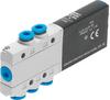 Air solenoid valve -- MHE2-MS1H-5/2-QS-4 -Image