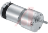 Gearmotor; 24 VDC; 0.140 A (Max.) @ No Load; 5200 RPM; 66 Oz-in. (Continuous) -- 70217706