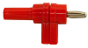 Stacking Right Angle Banana Plug -- 9307