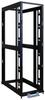 42U SmartRack 4-Post Mid-Depth Open Frame Rack, Expansion Version - no sides, doors or roof -- SR42BMDEXPNDNR3 - Image
