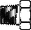 Hex Reducer Bushing -- 5406-08-02