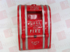 UTC FIRE & SECURITY COMPANY 270-DOC ( FIRE ALARM PULL STATION, NON-CODED, BREAK GLASS, METAL, DOUBLE POLE, OPEN CIRCUIT, ONE CIRCUIT CLOSED. ) -Image
