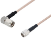 SMA Male Right Angle to SMA Male Cable 48 Inch Length Using RG316 Coax -- PE3W06425-48 -Image