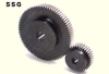 120mm PD Ground Spur Gears -- SSG1.5-80-Image