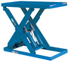 Single Scissors (P) Series Lift Tables -- P-6060