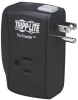 Protect It! 2-Outlet Portable Surge Protector, Direct Plug-In, 1050 Joules, Fax/Modem Protection -- TRAVELER