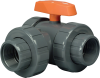 Manual Ball 3 Way Valves -- LA Series