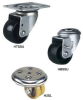 MEDIUM DUTY LOW PROFILE SWIVEL CASTERS -- HTSSU-063-GN1S
