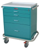 Classic Short Four Drawer Workstation with Key Lock Sta.. -- 6350 -- View Larger Image