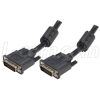 Deluxe DVI-I Dual Link DVI Cable Male / Male w/ Ferrites, 1.0ft -- CGDVI-I-MM-1 - Image