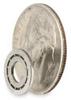 Mini Ball Bearing,Open,Bore 4.00 mm -- 1ZGY4
