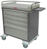 OptimAL Line 64 Bin Capacity Medication Cart, Standard .. -- AL64MDBIN