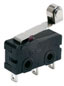 ZM Series, Subminiature Basic Switch, SPDT, 125/250 Vac, 5 A, Roller Lever Actuator, Solder Termination -- ZM50E10F01
