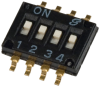 DIP Switches -- GH1331-ND -Image