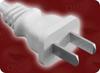 GB 15934-2008 CHINA 2 WHITE to ROJ HOME • Power Cords • International Power Cords • China Power Cords -- 8678.098