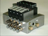 Valve Gate Pneumatic Control -- 24VDC Air Valve Assembly