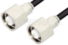 LC Male to LC Male Cable 84 Inch Length Using RG214 Coax, RoHS -- PE33491LF-84 -Image