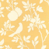 Bird in Tree Branch Matelasse Fabric -- R-Bianca - Image