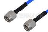 SMA Male to SMA Male Cable 24 Inch Length Using PE-086FLEX Coax , LF Solder -- PE3CA1039-24 -Image