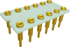 Relay Sockets, Solder Dip/12 Pin -- G6K2PRF-12P-BL52-C - Image