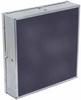 Black Quartz Composite Face Infrared Panel Heater Style RB