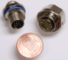 High Density Miniature Circular Connector -- P/N 019032-2000 - Image