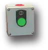 Die-Cast Aluminum One Button Enclosure -- MC-1BS-NO-F - Image