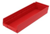 Polypropylene Shelf Bins -- H30184-RD -Image