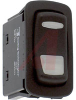 Switch, Rocker, L SERIES, Lighted, SPDT, ON-OFF-ON, 22.1MM X 44.1MM MOUNTING SIZ -- 70131609 - Image