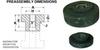 Tandem Unitized Center Bolt Mounts (inch) -- A10Z42-A7010 -Image
