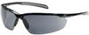 Bouton Optical Commander 250-33 Polycarbonate Standard Safety Glasses Gray Lens - Gloss Black Frame - 616314-30335 -- 616314-30335