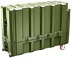 Pelican AL5415-1026 Single Lid Flat Shipping Case with Foam - Olive Drab -- PEL-AL5415-1026RPF137 -Image