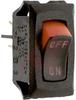 Switch, Rocker, Curvette, SPST, On-None-Off, Visi Rocker W/ On-Off Imprint -- 70131590