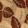 Tropical Leaf Chenille Fabric -- R-Tameron