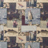 Fisherman Patch Tapestry Fabric -- RH-Trophy Catcher -- View Larger Image