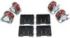 Pelican 0507 Caster Wheel Kit for 0500/0550 Case -- PEL-0500-340-000 - Image