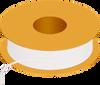 Flexible Tubing, 90 Shore A, White Opaque -- AP02T371PEWH