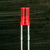 3MM FLAT TOP RED LED -- E424IDT